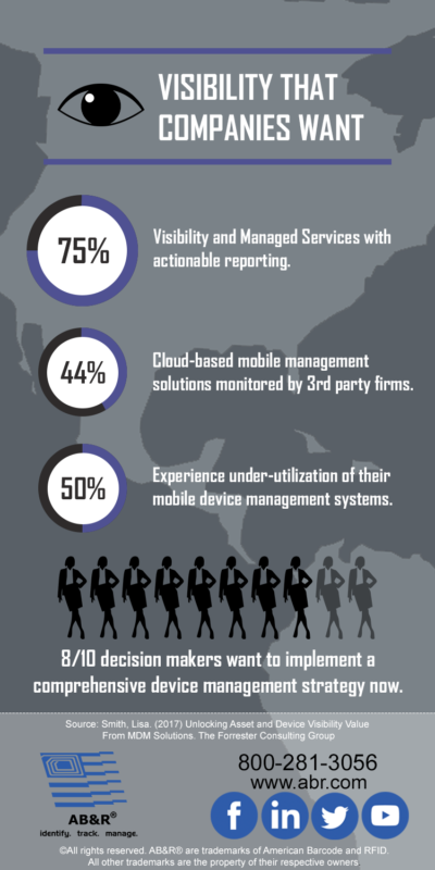 Visibility Services Infographic