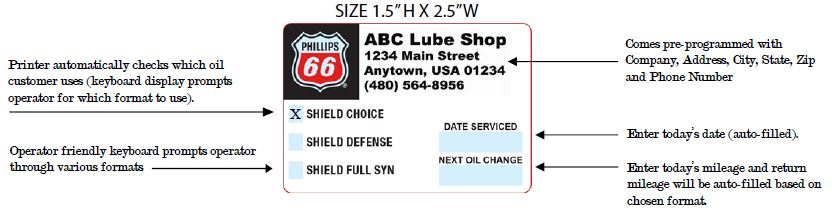 Phillips Oil Change - AB&R® (American Barcode and RFID)