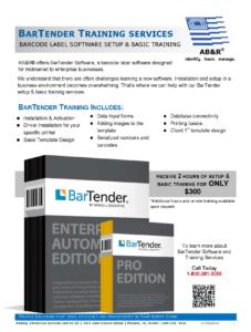 BarTender Training AB&R