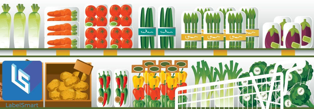 print on demand food labeling