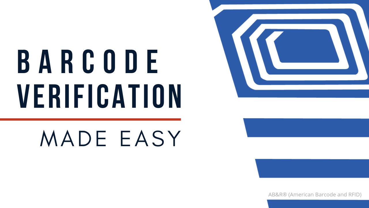 Barcode Verification barcode verification made easy with the px940 | ab&r®