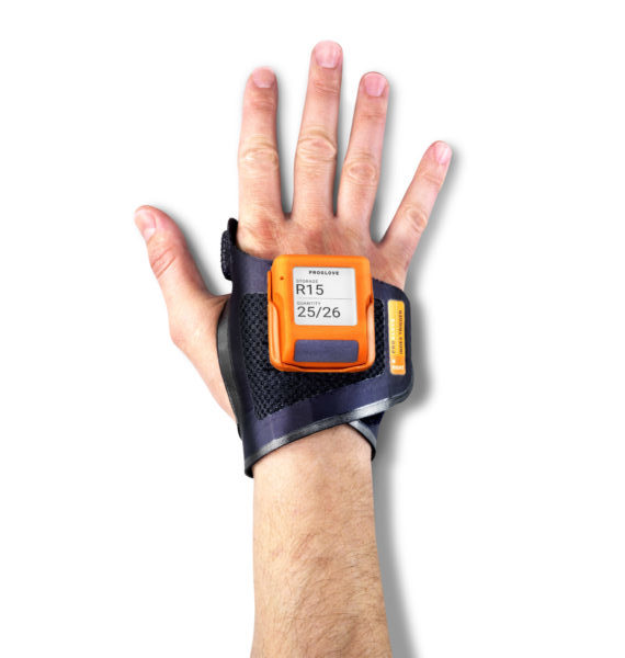 MARK display wearable scanner