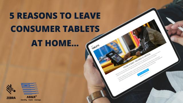 Rugged tablets vs consumer tablets